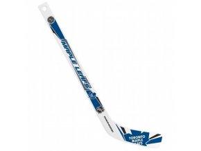 Plastiková minihokejka Toronto Maple Leafs Sher-wood - hráčská