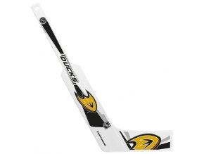 Plastiková minihokejka Anaheim Ducks Sher-wood - brankářská
