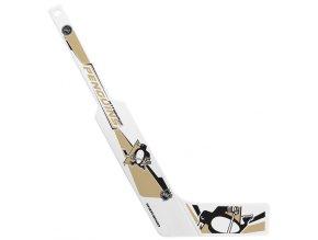 Plastiková minihokejka Pittsburgh Penguins Sher-wood - brankářská