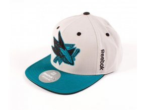 Kšiltovka San Jose Sharks Center Ice Snapback