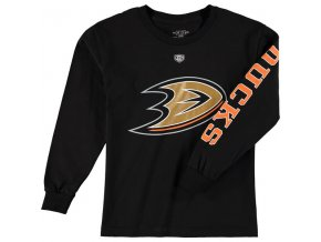 Dětské tričko Anaheim Ducks Old Time Hockey Two Hit Long Sleeve