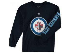 Dětské tričko Winnipeg Jets Old Time Hockey Two Hit Long Sleeve