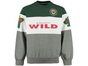 Mikina Minnesota Wild Era Crewneck Sweatshirt