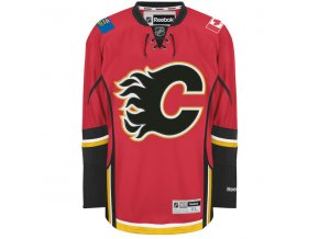Dres Calgary Flames Premier Jersey Home
