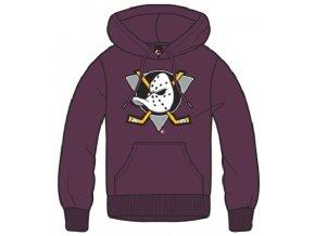 Mikina Anaheim Ducks Majestic Bember Hoody
