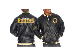 Bunda - Faux Leather - Boston Bruins