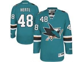Dres Tomas Hertl #48 San Jose Sharks Premier Jersey Home