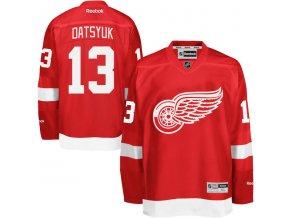 Dres Pavel Datsyuk #13 Detroit Red Wings Premier Jersey Home