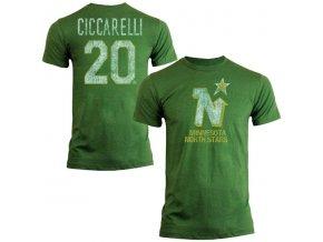 Tričko #20 Dino Ciccarelli Minnesota North Stars Legenda NHL