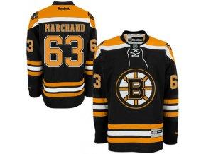 Dres Brad Marchand #63 Boston Bruins Premier Jersey Home