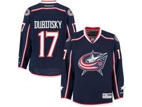 Dres Brandon Dubinsky #17 Columbus Blue Jackets Premier Jersey Home