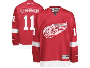 Dres Daniel Alfredsson #11 Detroit Red Wings Premier Jersey Home