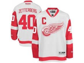 Dres Henrik Zetterberg #40 Detroit Red Wings Premier Jersey Away