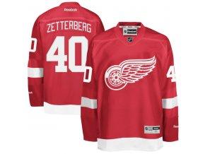 Dres Henrik Zetterberg #40 Detroit Red Wings Premier Jersey Home