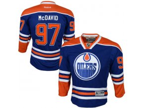 Dres Connor McDavid #97 Edmonton Oilers Premier Jersey Home dětský