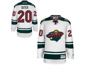 Dres Ryan Suter #20 Minnesota Wild Premier Jersey Away