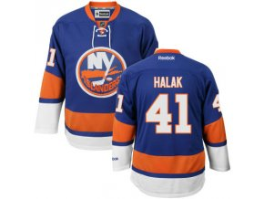 Dres Jaroslav Halak #41 New York Islanders Premier Jersey Home