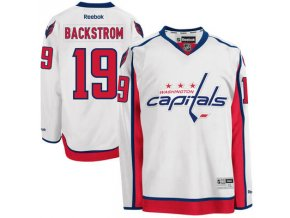 Dres Nicklas Backstrom #19 Washington Capitals Premier Jersey Away