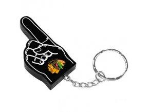 Přívěšek na klíče Chicago Blackhawks Velký Palec