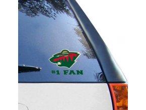 Samolepka Minnesota Wild #1 Fan