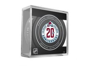 Puk  Colorado Avalanche 20th Anniversary