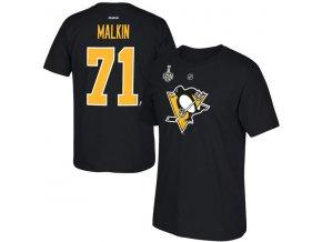 Tričko #71 Evgeni Malkin Pittsburgh Penguins 2016 Eastern Conference Champions