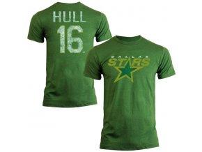 Tričko #16 Brett Hull Dallas Stars Legenda NHL