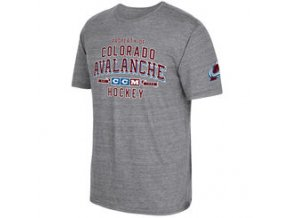 Tričko Colorado Avalanche CCM Property Block Tri-Blend