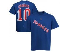 Dětské Tričko #10 Marian Gaborik New York Rangers - modré