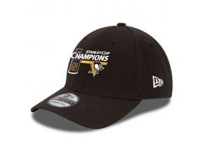 Kšiltovka Pittsburgh Penguins 2016 Stanley Cup Champions 39THIRTY Flex Black