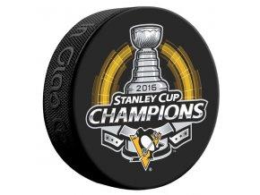 Oficiální puk Pittsburgh Penguins 2016 Stanley Cup Champions
