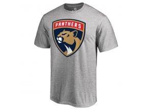 Tričko Florida Panthers Primary Logo New - šedé