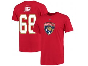 NHL tričko Jaromír Jágr #68 Florida Panthers New Logo