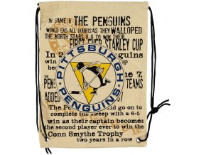 NHL vak Pittsburgh Penguins Historic Canvas Drawstring