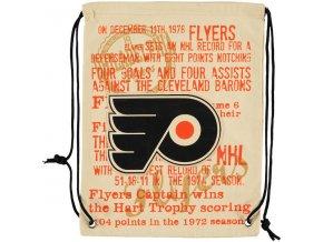 NHL vak Philadelphia Flyers Historic Canvas Drawstring