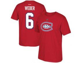 Tričko #6 Shea Weber Montreal Canadiens