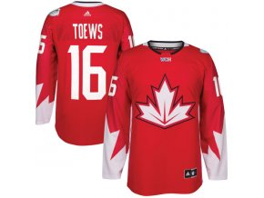 Dres #16 Jonathan Toews Team Canada Světový pohár 2016