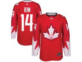 Dres #14 Jamie Benn Team Canada Světový pohár 2016