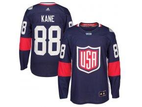 Dres #88 Patrick Kane Team USA Světový pohár 2016