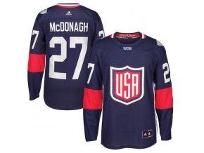 Dres #27 Ryan McDonagh Team USA Světový pohár 2016