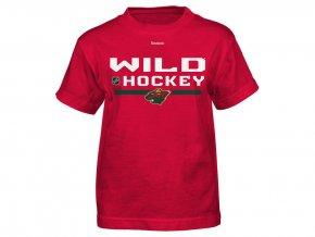 Dětské tričko Minnesota Wild Locker Room 15