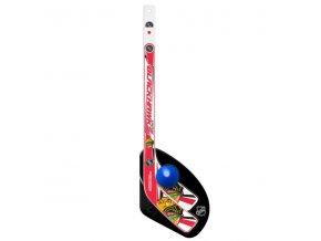 Plastiková minihokejka Chicago Blackhawks Sher-Wood One on one set