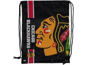 NHL vak Chicago Blackhawks Big Logo Drawstring