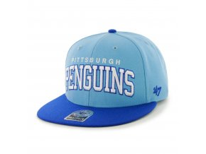 Kšiltovka Pittsburgh Penguins Blockshed Snapback