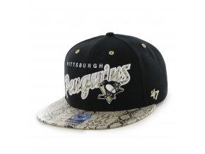 Kšiltovka Pittsburgh Penguins Cobra Snapback