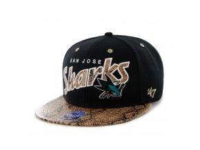 Kšiltovka San Jose Sharks Cobra Snapback