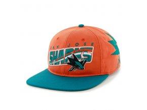 Kšiltovka San Jose Sharks Hazelwood Snapback