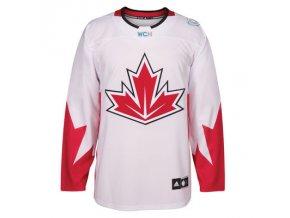 Dres Team Canada Premier Jersey White Světový Pohár 2016