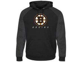 Mikina Boston Bruins Majestic Penalty Shot Therma Base Hoodie