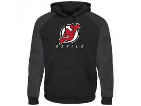 Mikina New Jersey Devils Majestic Penalty Shot Therma Base Hoodie